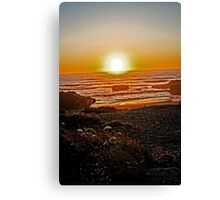 And The Sun Falls Down Canvas Print