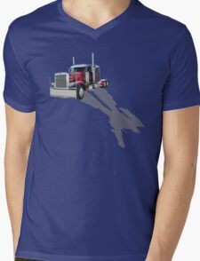 Optimus Prime Mens V-Neck T-Shirt