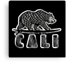 Cali Bear 2015 Canvas Print