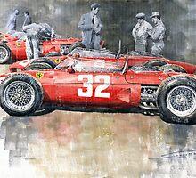 Ferrari 156 Italian GP 1961 by Yuriy Shevchuk