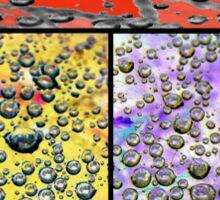 Droplet Variations Sticker