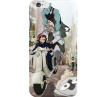 Kekkai Sensen - Leonardo, Zapp and Zed on vespa iPhone Case/Skin