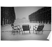 Paris in the snow (2) Poster