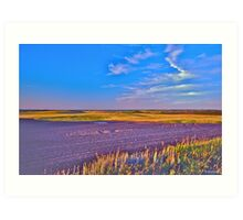 The Prairies Art Print