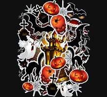 Halloween Spooky Cartoon Saga Unisex T-Shirt