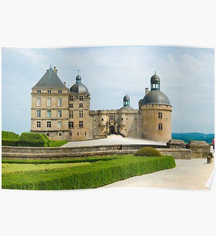 Chateau Hautefort Poster