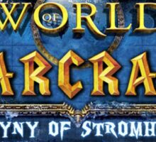 World of Warcraft: The Misogyny of Stromheart Sticker