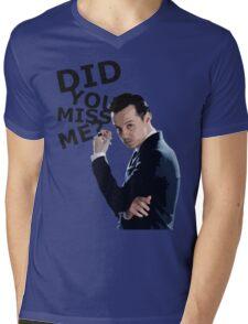 Did you miss me? Mens V-Neck T-Shirt