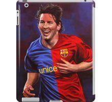 Lionel Messi painting iPad Case/Skin