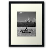 Being strong Framed Print