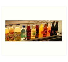 Drinks Panorama Art Print