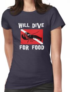 SCUBA Womens Fitted T-Shirt