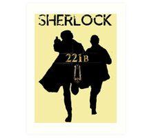 221B Baker Street Art Print
