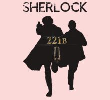 221B Baker Street One Piece - Long Sleeve