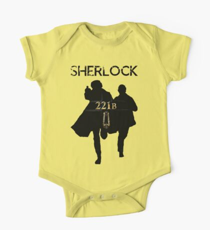 221B Baker Street One Piece - Short Sleeve