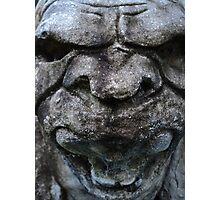 Screaming Gargoyle Photographic Print