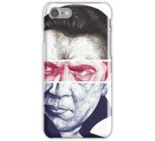 Dracula, A a ballpoint portrait.  iPhone Case/Skin