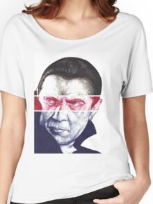 Dracula, A a ballpoint portrait.  Women's Relaxed Fit T-Shirt