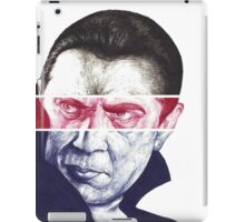 Dracula, A a ballpoint portrait.  iPad Case/Skin