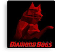 Diamond Dogs (Alt) Canvas Print
