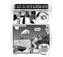 Terror of The Sheep page 1 Poster