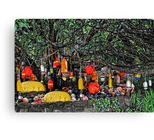 Garden Of Floats Canvas Print
