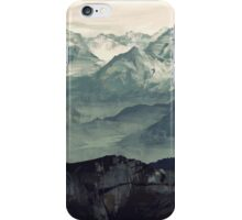 Mountain Fog iPhone Case/Skin