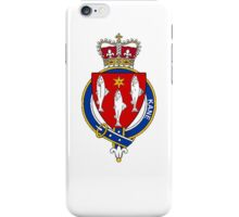 Coat of arms (family crest) for last-name or surname Kane or Cain (Ireland) . Heraldry banner for your name. iPhone Case/Skin