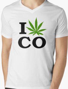 I Marijuana Colorado Mens V-Neck T-Shirt