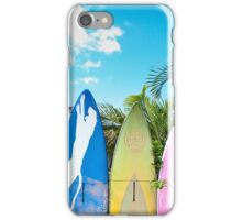 Cool Surfboard Fence iPhone Case/Skin
