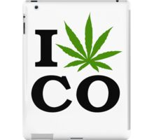 I Marijuana Colorado iPad Case/Skin