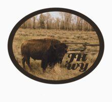 Jackson Hole Buffalo  by jhprints
