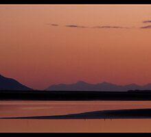 Calm Over The Sound - Alaska by Melissa Seaback