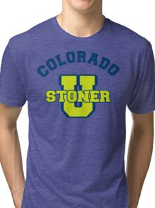 Colorado Cannabis Tri-blend T-Shirt