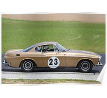 Eastern Creek Tasman Revival 2010 1969 Volvo P1800E Poster