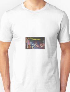 Chinatown Los Angeles Unisex T-Shirt