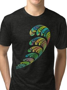 SPACE ART DECO # 3 Tri-blend T-Shirt