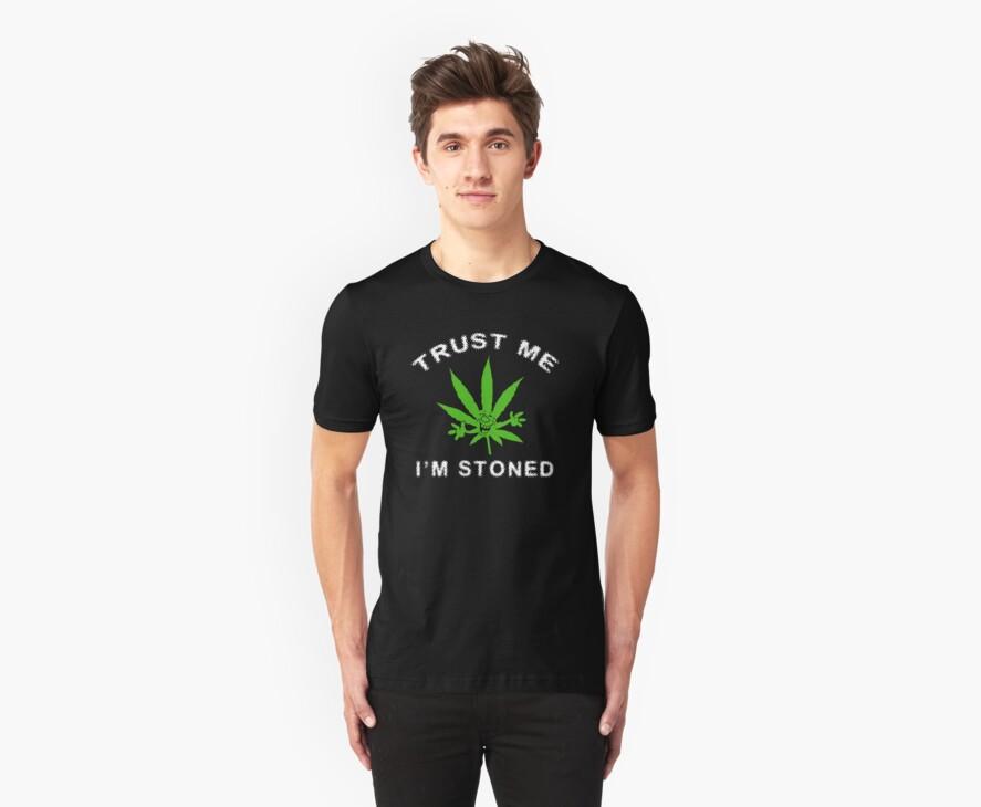 Very Funny Stoned Marijuana by MarijuanaTshirt