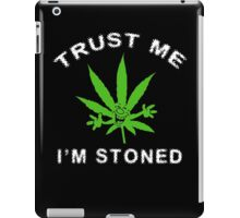 Very Funny Stoned Marijuana iPad Case/Skin