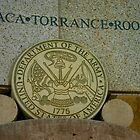 Army Seal at Bataan Memorial by GirlPaint