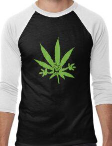 Marijuana Men's Baseball ¾ T-Shirt