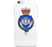 Coat of arms (family crest) for last-name or surname Kelly (Ireland) . Heraldry banner for your name. iPhone Case/Skin