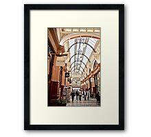 The Block Arcade, Melbourne Framed Print