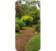 Gardens at Whitehall iPhone Case/Skin