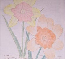 Daffodils by Roger-Cyndy