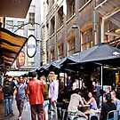 Degraves Street, Melbourne by Nicole a Alley
