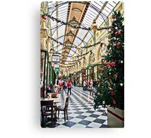 The Royal Arcade, Melbourne Canvas Print