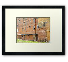 Run Down & Abandoned Framed Print