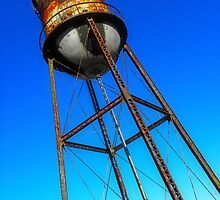 Study of Water Tower One by designerbecky
