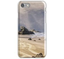 Approaching Storm At Seal Rock iPhone Case/Skin